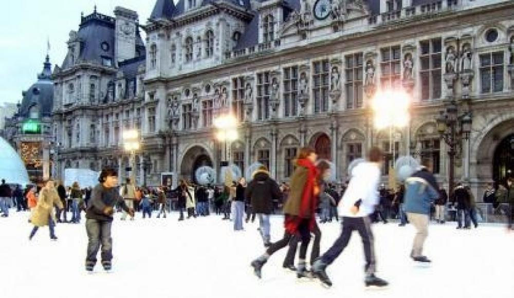 Patin à glace dans Paris - Hotel du Lion d'or Louvre